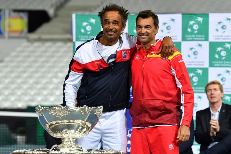 Coupe Davis France-Espagne:
