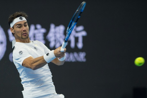 Fognini fined for sexist outburst