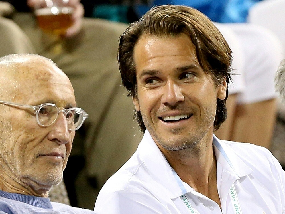 Tommy Haas Berater des Franzosen Pouille