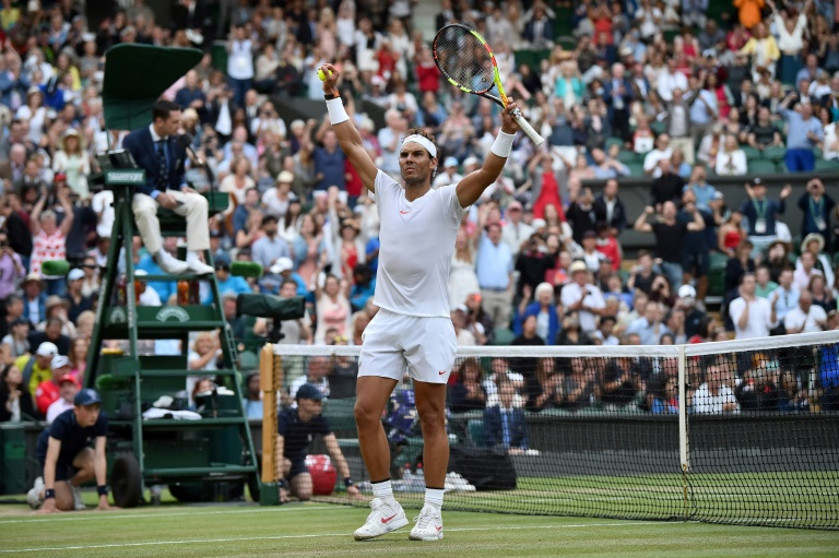 Nadal to face Djokovic after Del Potro Wimbledon epic