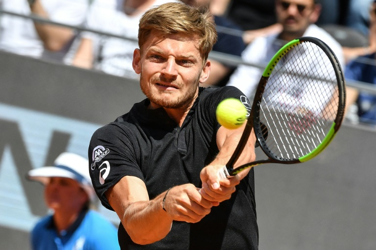 Goffin rallies past Wawrinka to advance in Rome