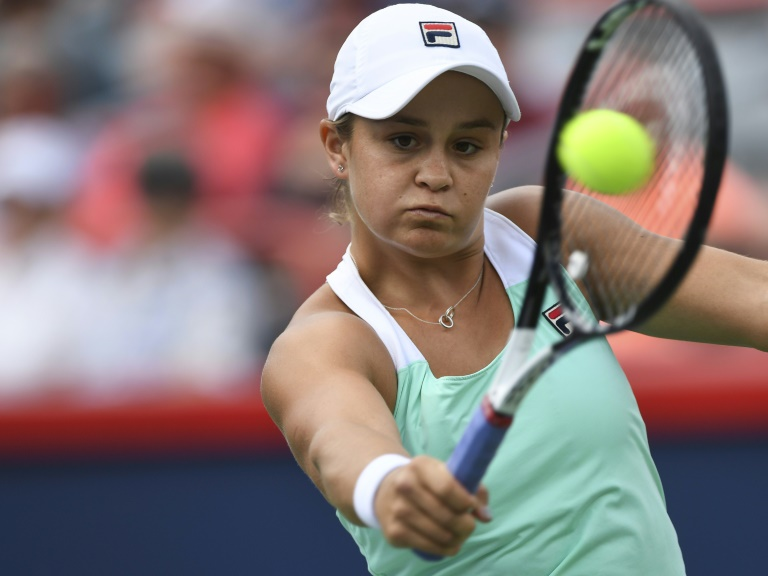Barty into semi-finals on Montreal debut