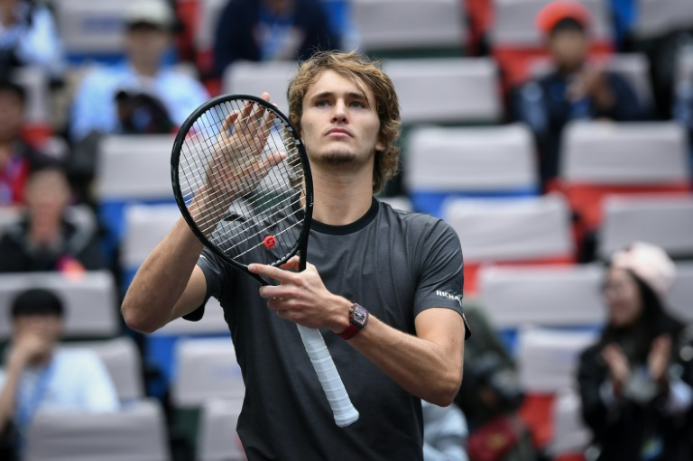 Zverev blames 'superstition' for 'ridiculous' use of towels
