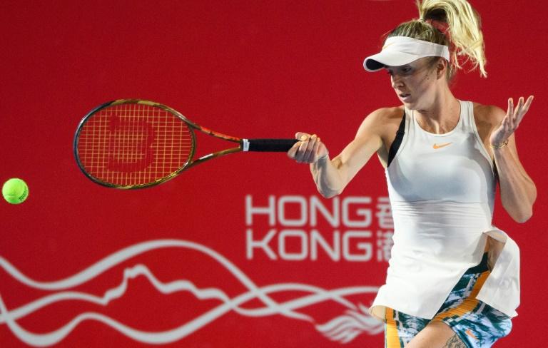 'Angry' Svitolina tees up Wang clash in Hong Kong