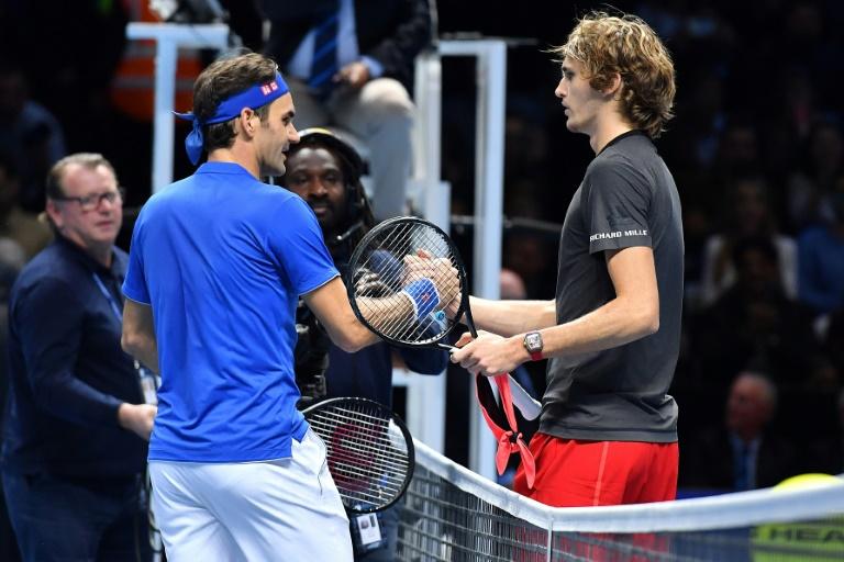 Federer éliminé par Zverev en demi-finales du Masters