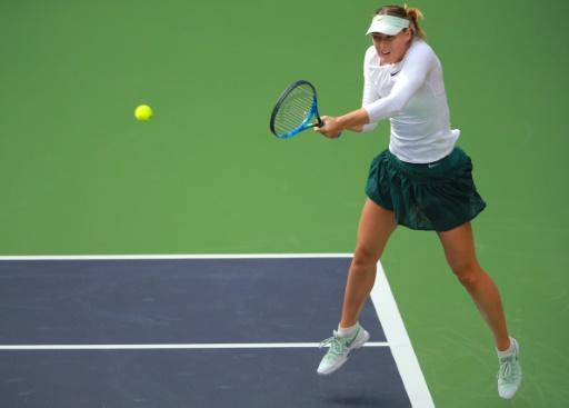Sharapova triumphs in Tianjin opener
