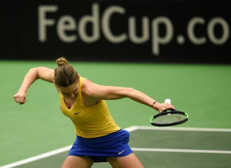 Former number ones Halep, Pliskova off to winning Fed Cup starts