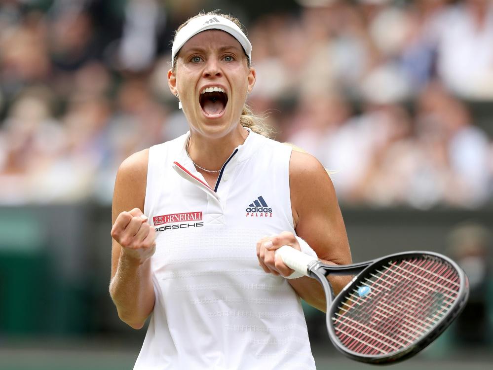 Kerber im Halbfinale von Wimbledon