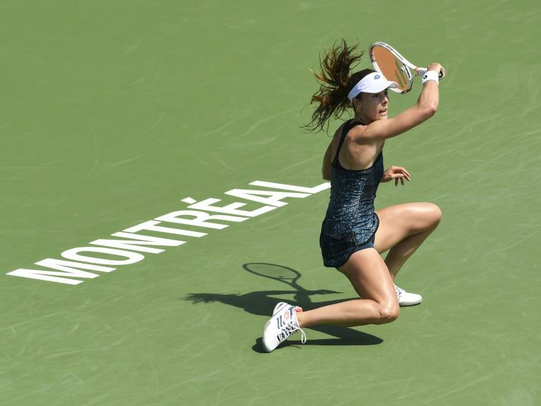 À Montréal Garcia s'affirme, Wozniacki trébuche