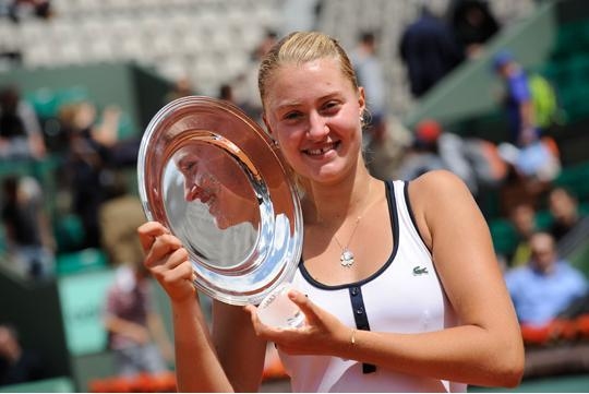 Photo Gallery Kristina Mladenovic Vainqueur