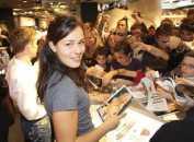 ana ivanovic, dedicace, autographe
