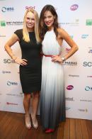 Caroline Wozniacki et Ana Ivanovic, WTA Finals 2014.