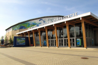 coupe davis 2012, france, canada, vancouver, doug mitchell thunderbird sports centre, extérieur