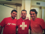 Federer, Wawrinka, Coupe Davis 2014, Suisse vs Serbie