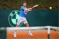 gilles simon, entraînement, coupe davis 2012, monte-carlo, france vs usa