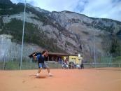 roger federer, 2013, entrainement, terre battue, montagnes
