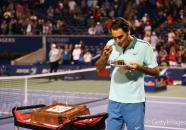 Tennis, Roger Federer , Anniversaire